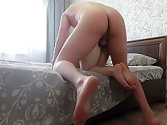 Titsjob and anal from my new busty girlfriend - POV ass fuck