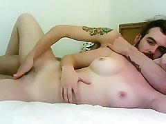 Darling Is Receiving A Cock