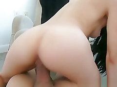 Small Teen Cowgirl Fucks Pov
