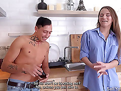 Sell Your GF - Marselina Fiore - Fucking in front of rich dude