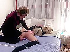 I CUM SO HARD! - Multiple orgasms for Swedish babe Miss UniQueen in bondage